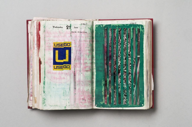 Dieter Roth, «Diary», 1967; foto di Michael Pfisterer