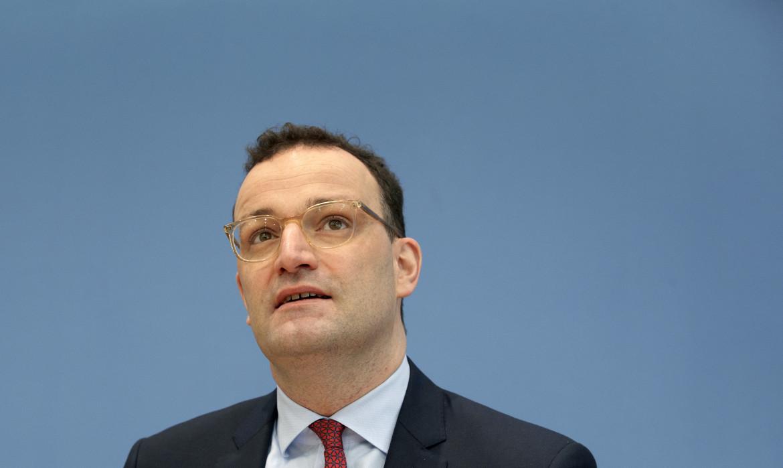 Il ministro della Sanità tedesca Jens Spahn
