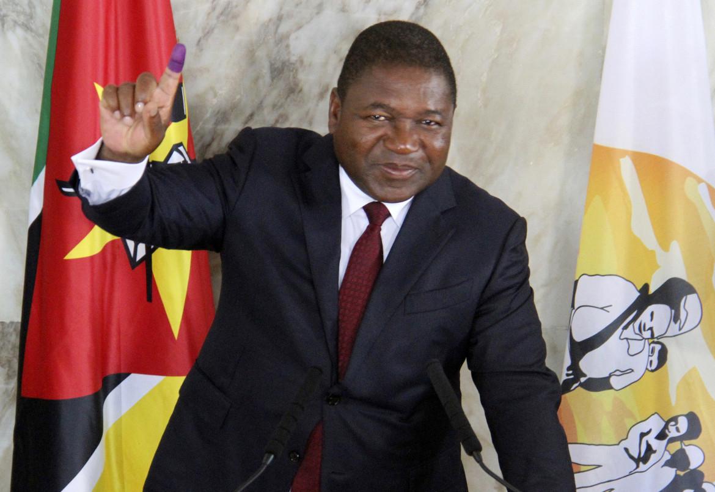 Il presidente mozambicano Filipe Nyusi, al centro delle critiche