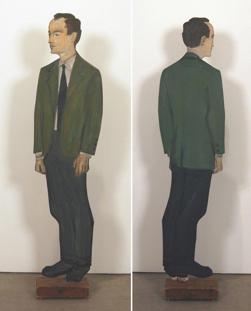 Alex Katz, «Frank O'Hara», 1959