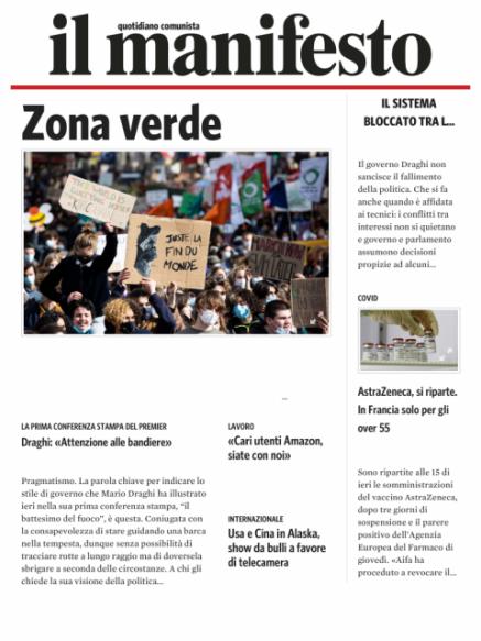 Edizione del 20032021