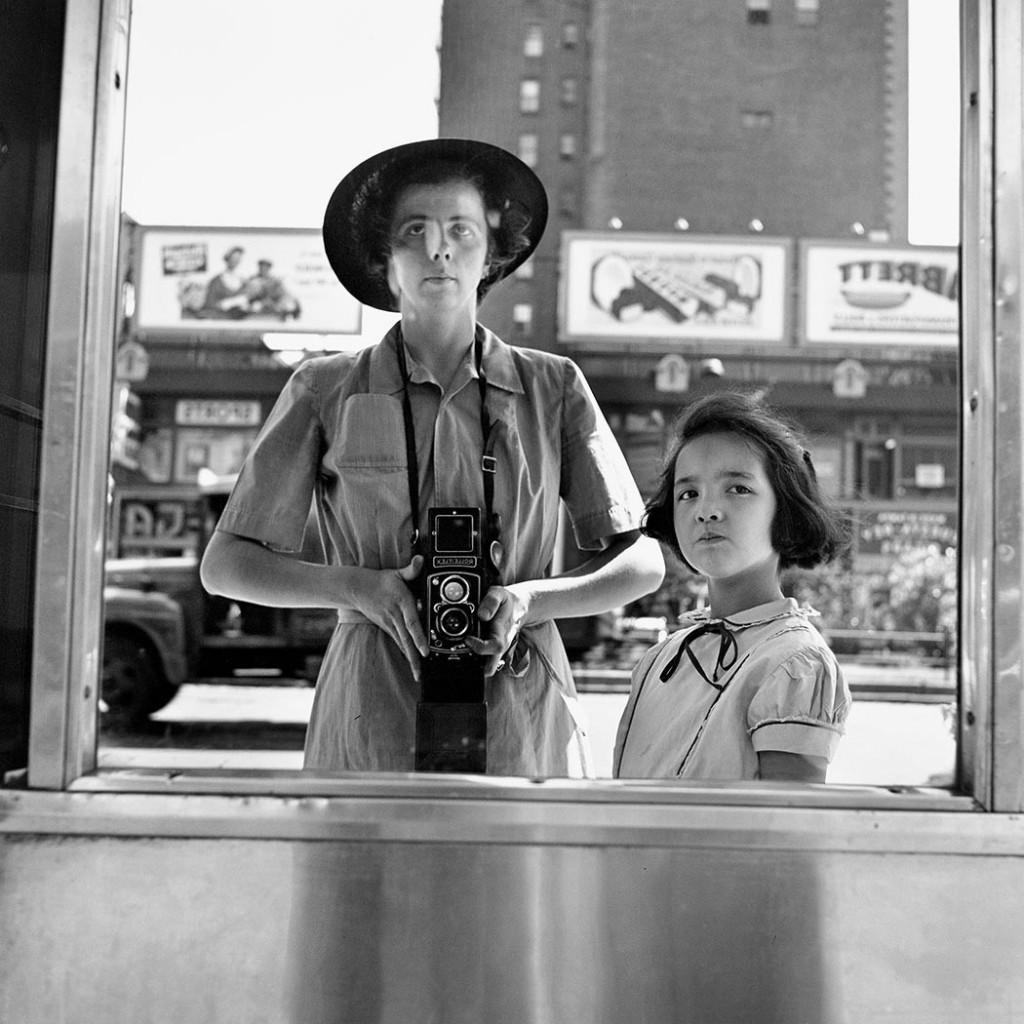 Vivian Maier, «Autoritratto», 1953