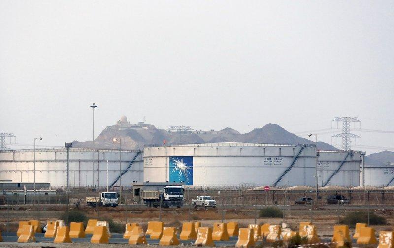 L'impianto della Saudi Aramco a Jidda