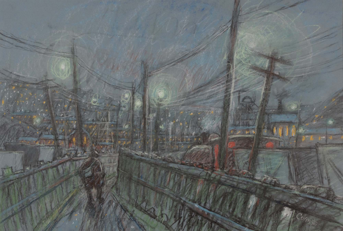 Norman Cornish, «Starry Night», 2001