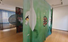 Veduta dellinstallazione di Paolo Parisi presso Building via Monte della Piet
