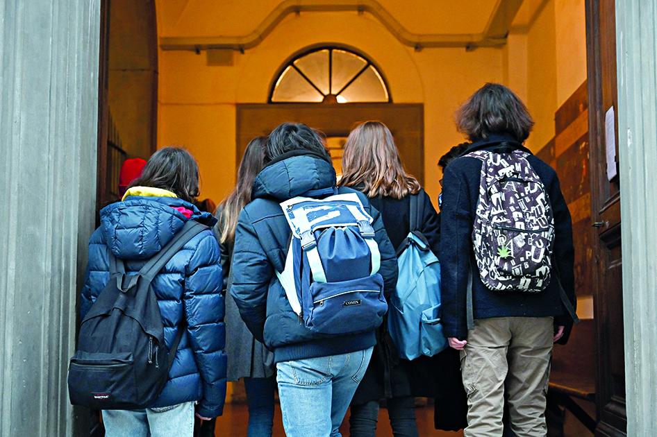 Studenti di una scuola di Firenze