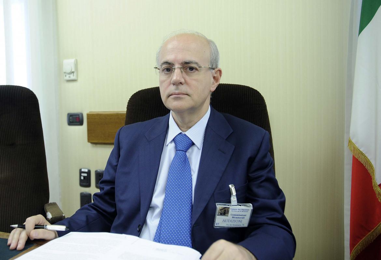 Il procuratore di Catania Carmelo Zuccaro