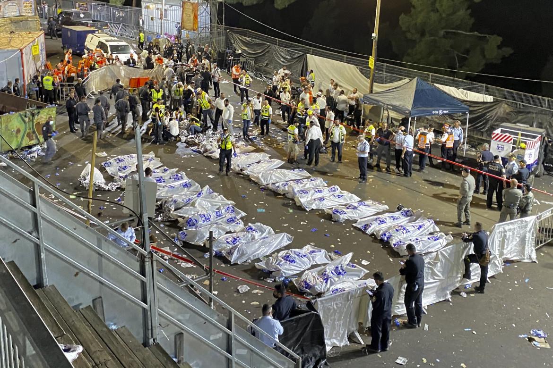 Le vittime del disastro al Monte Meron