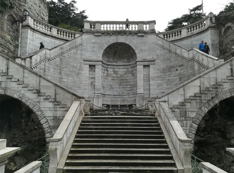 La Scala dei Giganti, Trieste