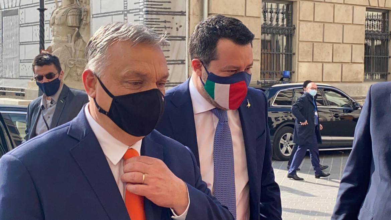 Viktor Orbán e Matteo Salvini