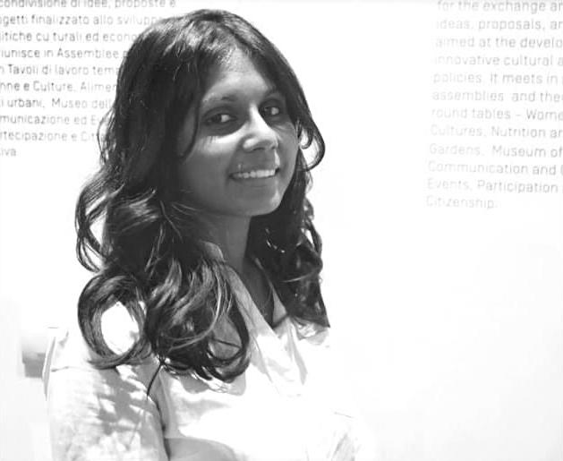 Nella foto la scrittrice Nadeesha Uyangoda