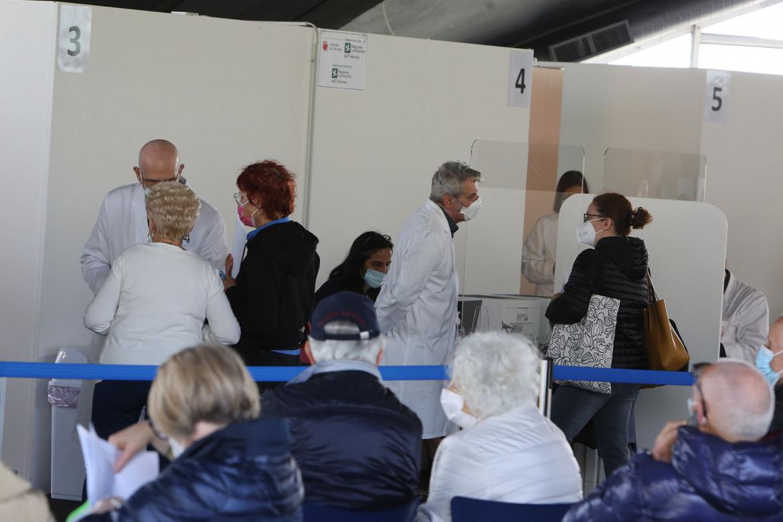 Centro Vaccini di Monza
