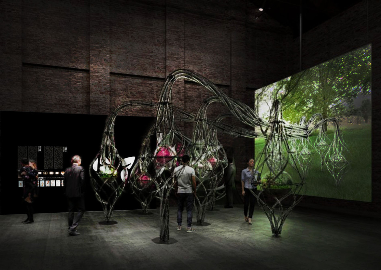 Installazione curatoriale Padiglione Italia
