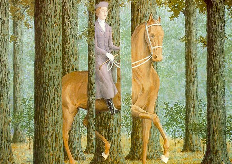 La firma in bianco, René Magritte