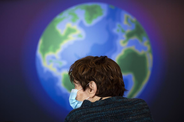 Pandemia, foto di AP