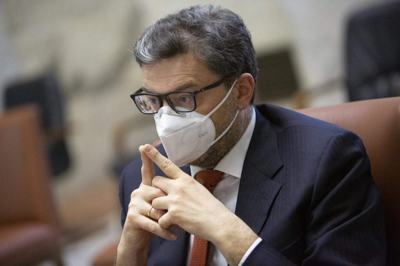 Il ministro dello Sviluppo economico Giancarlo Giorgetti