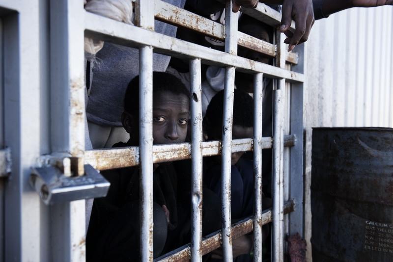 Centro di detenzione libico