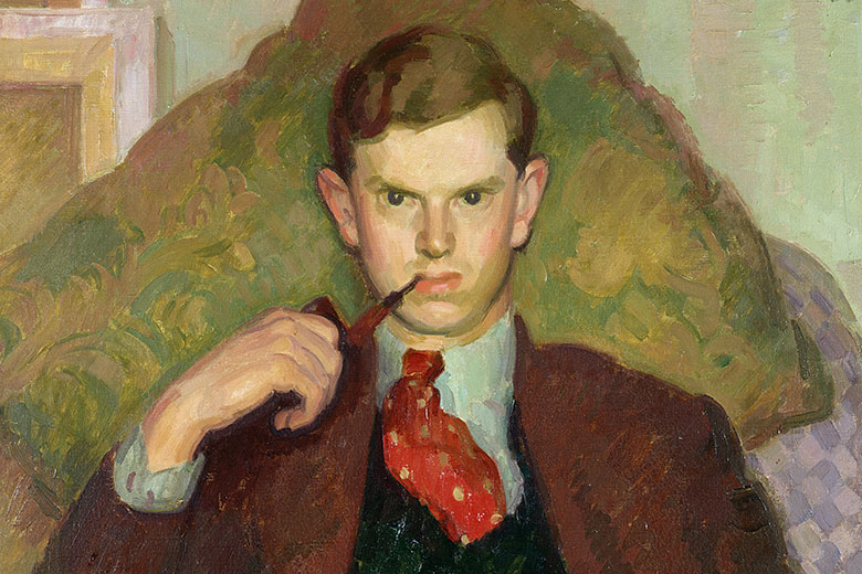 Henry Lamb, ritratto di Evelyn Waugh, 1930