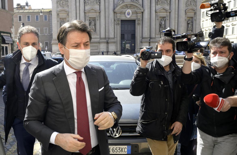 Il leader in pectore del M5S Giuseppe Conte