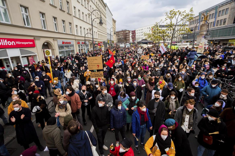 Manifestazione a Berlino