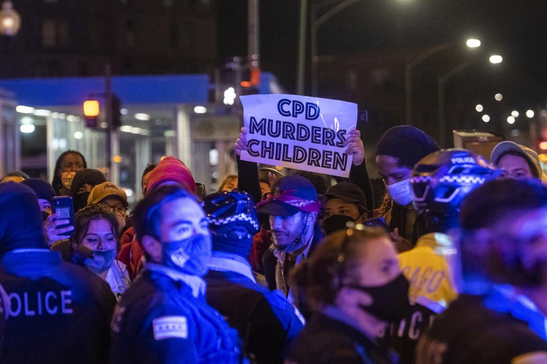 Le proteste a Chicago