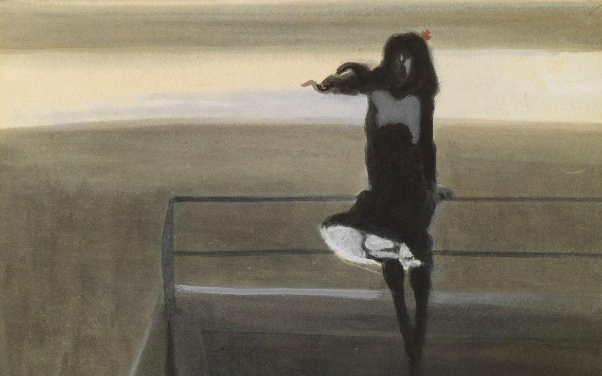 «The Gust of Wind» di Leon Spilliaert