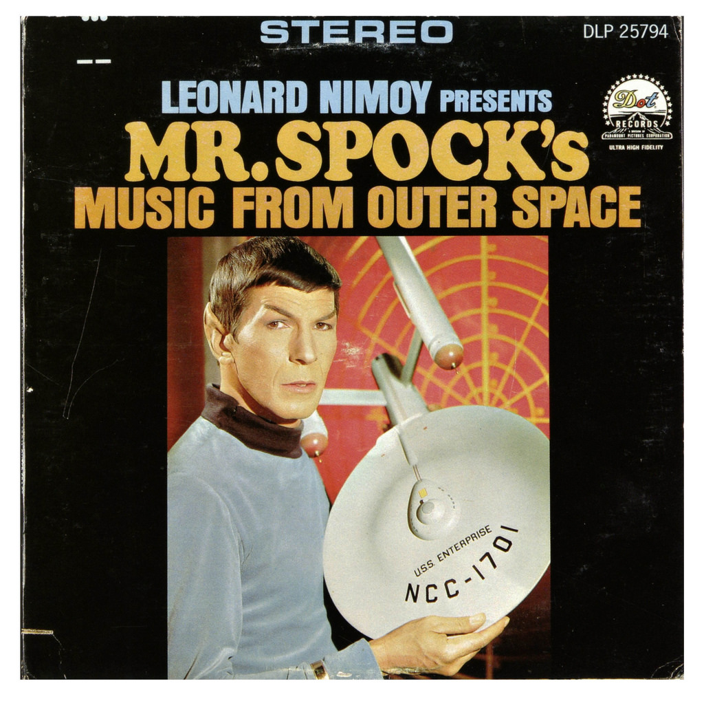 L'album di debutto del 1967 di Leonard Nimoy, il signor Spock della serie tv «Star Trek»