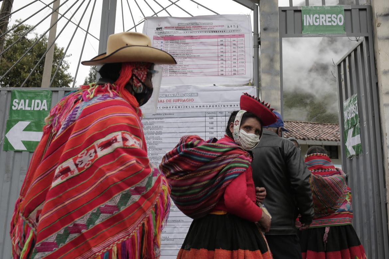 Un seggio di Ollantaytambo, Perù