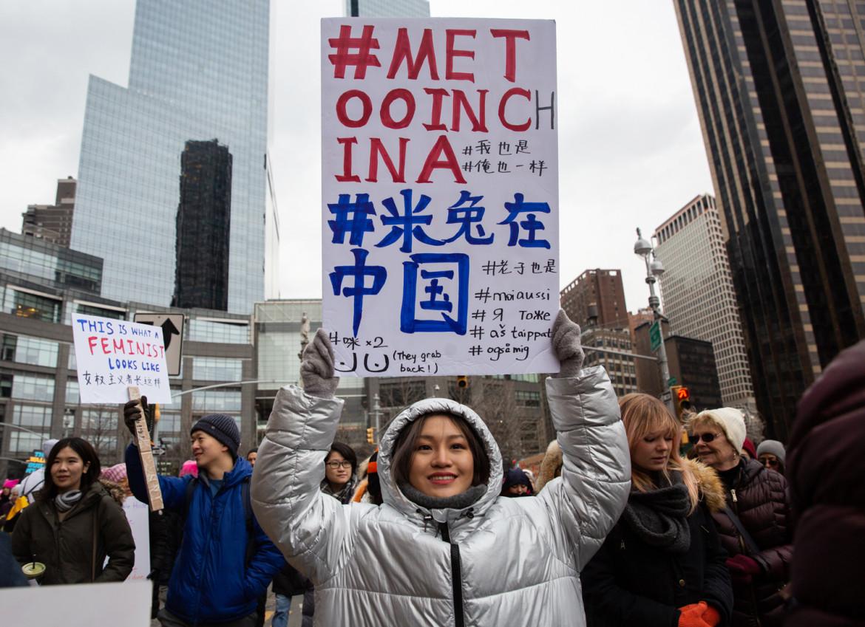 Il sostegno negli Usa al MeToo cinese