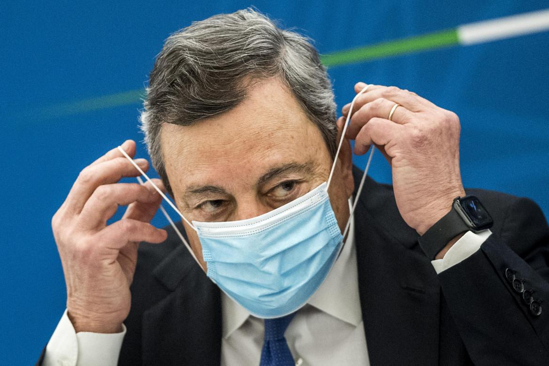 Il premier Draghi