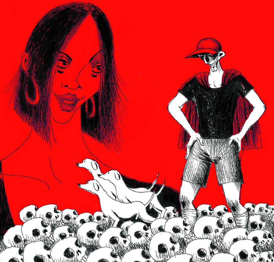 Dettaglio di copertina da «La vita bastarda» di Gianni Allegra