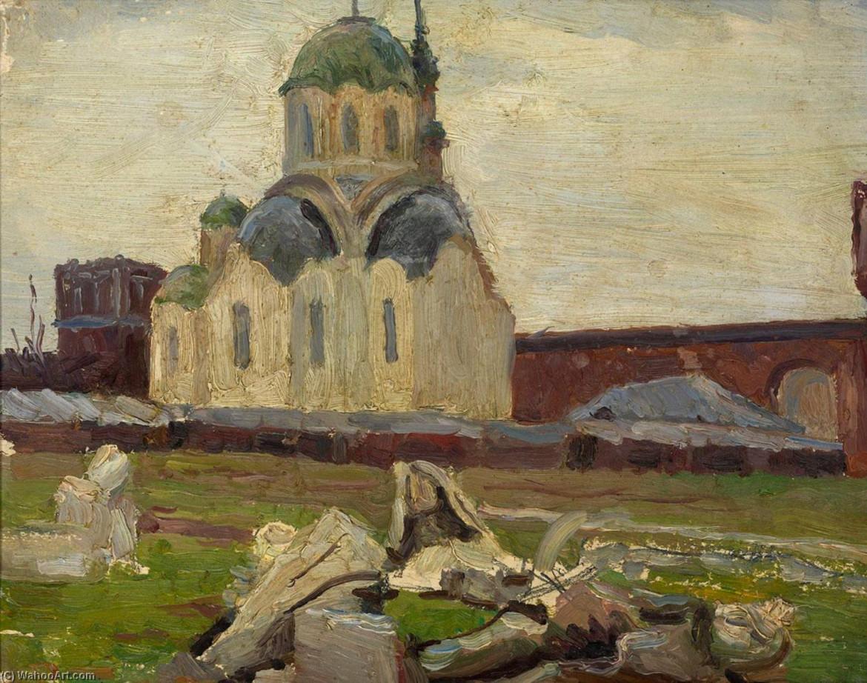 Mikhail Vasilevich Nesterov, «Monastero», 1920 ca.
