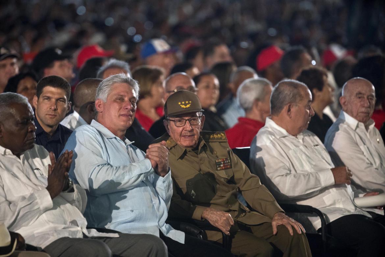 Díaz-Canel con Raúl Castro