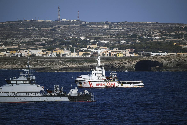 La nave umanitaria Open Arms