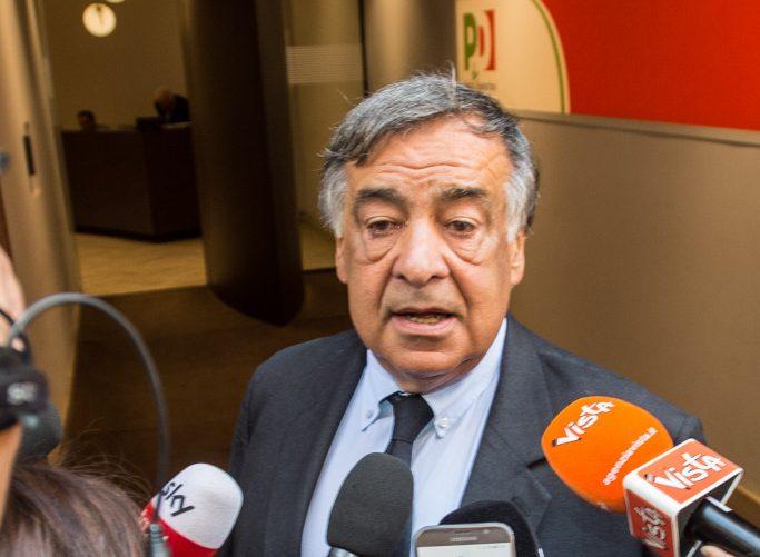 Il sindaco di Palermo, Leoluca Orlando