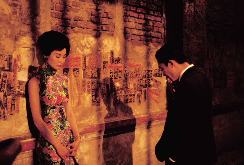 Maggie Cheung e Tony Leung nel film di Wong Kar-wai
