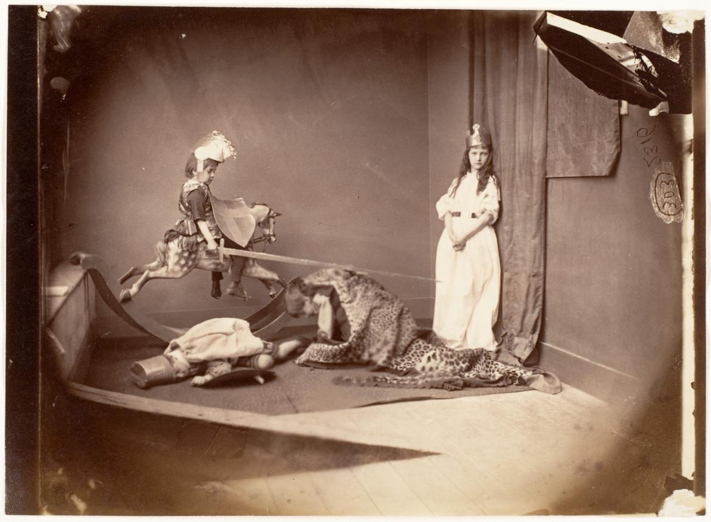 San Giorgio e il Drago nella messinscena di Lewis Carroll