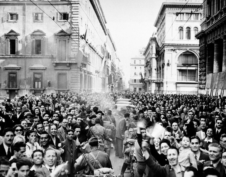 Il 25 Aprile 1945 a Roma