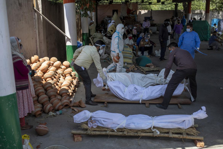 La terribile situazione per il Covid in India