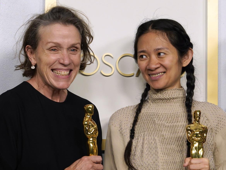 Frances McDormand e Chloé Zhao