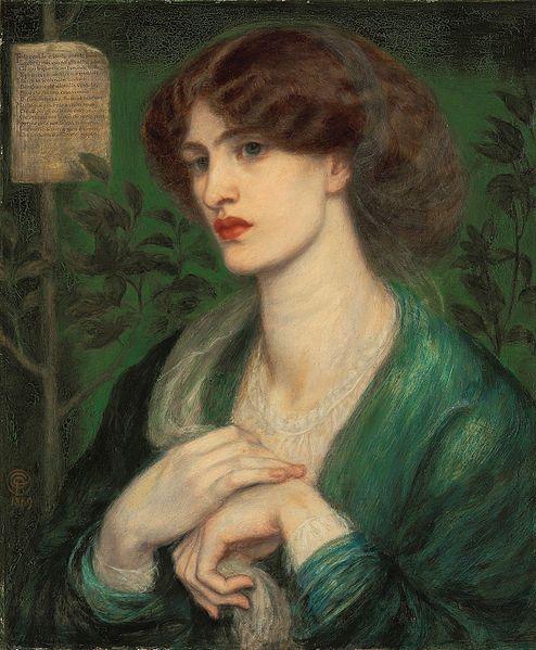 «The Salutation of Beatrice» di Dante Gabriel Rossetti (1869)
