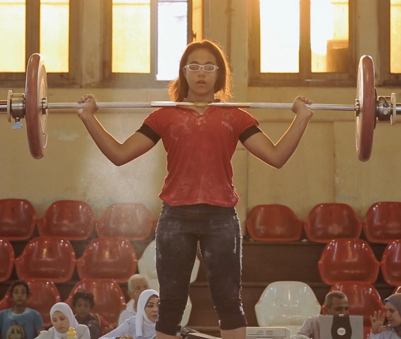 Una scena da «Lift Like a Girl» di Mayye Zayed