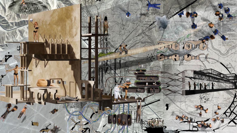 Inci Eviner, «Nursing Modern Fall», 2012