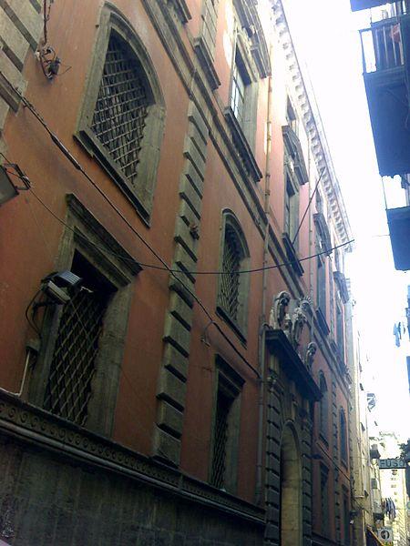 Facciata del palazzo del Monte di Pietà (Napoli)
