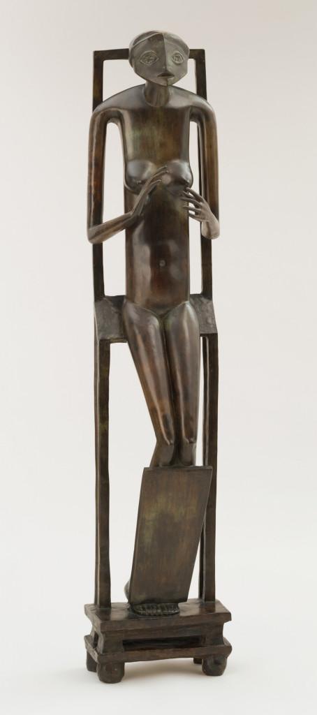 Alberto Giacometti, L'objet invisible, 1934, fusione 1954-'55 ca., New York, MoMA