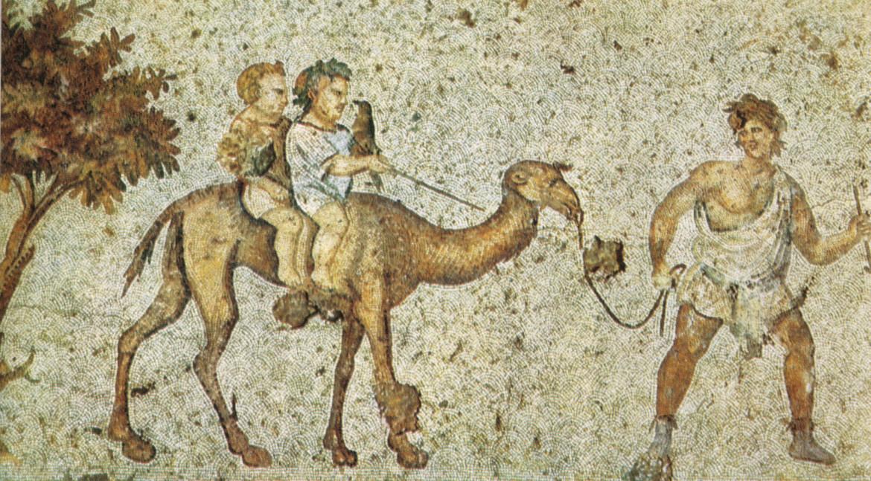 Mosaico di bambini  che giocano, VI secolo, Istanbul, Gran Palazzo