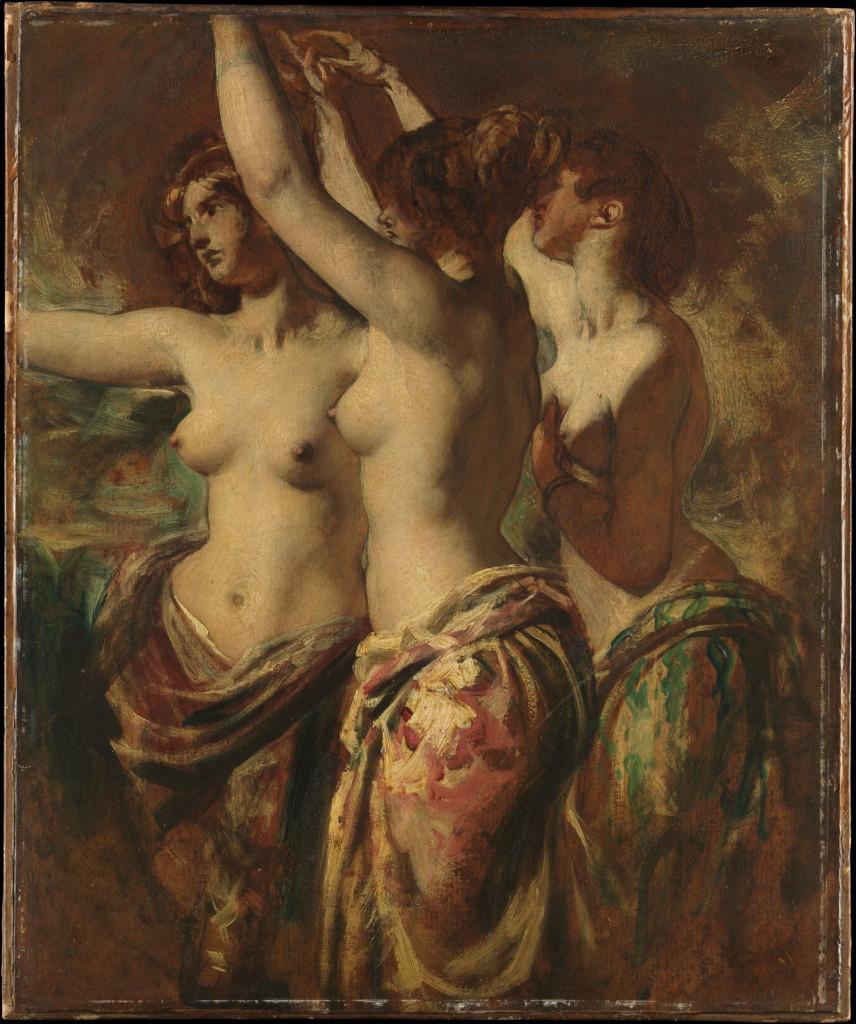 William Etty (1787-1849), The Three Graces,  New York,  The Metropolitan Museum