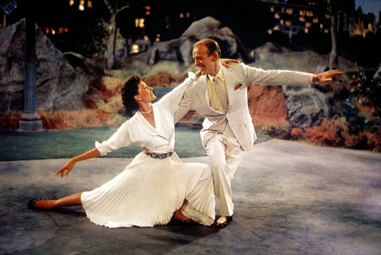 Fred Astaire e Cyd Charisse in una scena di «The Band Wagon» (1953)