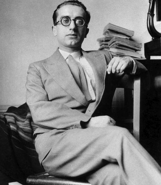 Nella foto Aldo Capitini