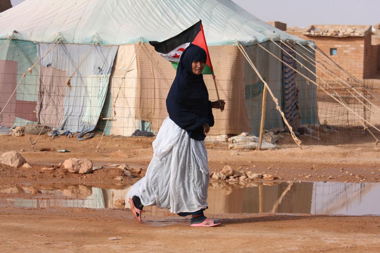 Nel campo profughi di Laayoune